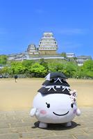 新緑の姫路城 しろまるひめ