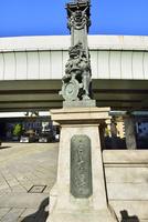 日本橋と首都高都心環状線