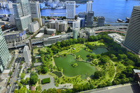 国際貿易センタービルより旧芝離宮恩賜庭園