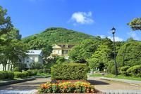 函館 元町公園と函館山