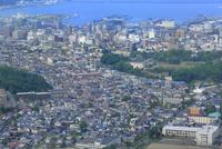 小樽,天狗山からの小樽市街眺望