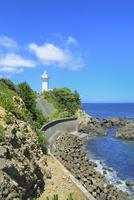 伊勢志摩,安乗埼灯台と太平洋