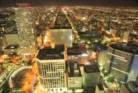 JRタワーから望む札幌市街夜景