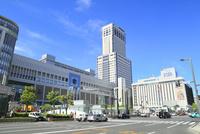 札幌駅前とJRタワー