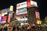 札幌すすきの夜景 11076030874| 写真素材・ストックフォト・画像・イラスト素材|アマナイメージズ