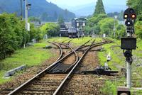 久大本線と由布院駅