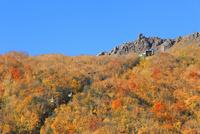 有珠山ロープウェイと紅葉