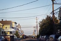 Power line over street