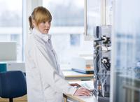 Technician in laboratory