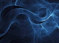 Abstract blue illustration.