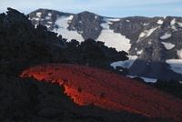 Mount Etna lava flow, Sicily, Italy.