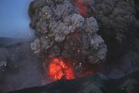 Eyjafjallajokull, eruption, Summit crater, Iceland.