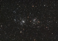 Double Cluster in Perseus (NGC 869 and NGC 884).