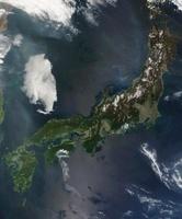 Japan's main island, Honshu.