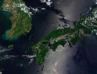 North and South Korea, and the Japanese island of Shikoku.