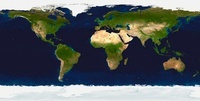 The Blue Marble: Land Surface, Ocean Color and Sea Ice.