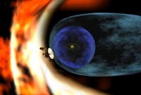 Voyager 2 spacecraft studies the outer limits of the heliosp 11079014720| 写真素材・ストックフォト・画像・イラスト素材|アマナイメージズ