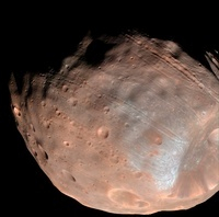 Mars moon Phobos.