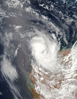 Cyclone Dominic off the shore of Western Australia. 11079015054| 写真素材・ストックフォト・画像・イラスト素材|アマナイメージズ