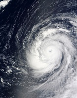Super Typhoon Choi-wan west of the Mariana Islands, Pacific