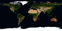 Global image of the world.
