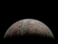 Artist's concept of Pluto.