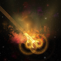 Stars and gases collide to form this spacial phenomenon.