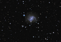 NGC5921 Spiral Galaxy
