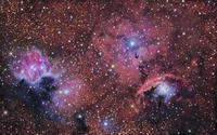 A star forming region in the constellation of Sagittarius.