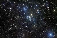 M41, a bright open star cluster located in the constellation