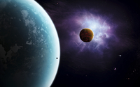 Two planets born from the same star, yet they couldn't be more different.
