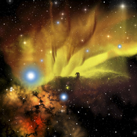 Illustration of the Horsehead Nebula.