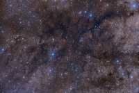 The massive dark nebula complex LDN 1003. 11079024806| 写真素材・ストックフォト・画像・イラスト素材|アマナイメージズ