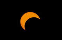 Partial solar eclipse of 2012.