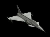 Eurofighter model.