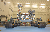 Mars Science Laboratory rover, Curiosity.