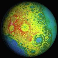 Lunar topography globe. 11079026731| 写真素材・ストックフォト・画像・イラスト素材|アマナイメージズ