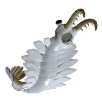 Anomalocaris from the Cambrian period of the Paleozoic Era.