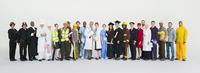 Portrait of diverse workers 11086017376| 写真素材・ストックフォト・画像・イラスト素材|アマナイメージズ