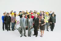 Diverse workforce 11086017393| 写真素材・ストックフォト・画像・イラスト素材|アマナイメージズ