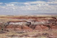 Painted Desert Petrified Forest National Park, Arizona, United States 11086026822| 写真素材・ストックフォト・画像・イラスト素材|アマナイメージズ