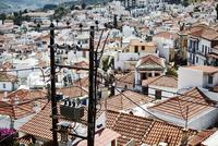 Red tiled rooftops, Skopelos, Greece