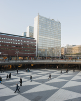 Sweden, Stockholm, Sergels torg, Shopping mall