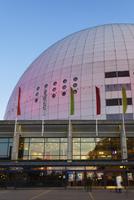 Sweden, Sodermanland, Stockholm, Johanneshov, Globen building exterior