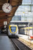 Sweden, Gothenburg, Train in station
