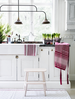 Kitchen interior in country home