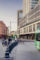 Sweden, Skane, Malmo, Downtown district