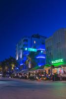 USA, Florida, Miami, Buildings along South Beach
