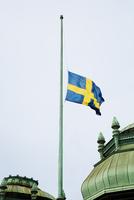 Sweden, Stockholm, Swedish flag