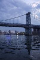 USA, New York City, Manhattan, Williamsburg Bridge